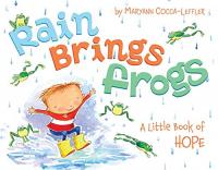 Rain brings frogs