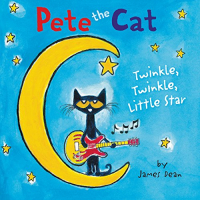 Pete the cat. Twinkle, twinkle, little star