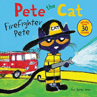 Pete the Cat. Firefighter Pete / by James Dean