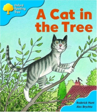 A cat in the tree