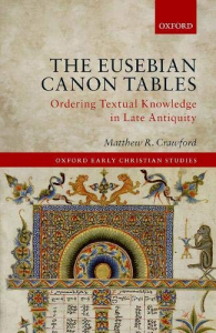 The eusebian canon tables