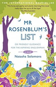 Mr Rosenblum's list, or Friendly guidance for the aspiring englishman