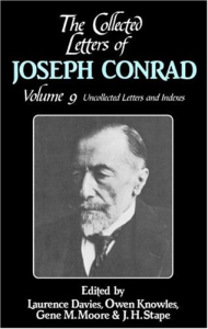 9: Uncollected letters, 1892-1923