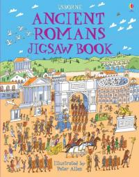 Ancient romans jigsaw book