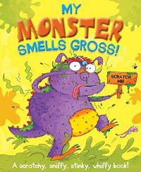 My monster smells gross!