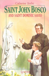 Saint John Bosco and the childrenاs saint Dominic Savio