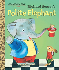 Richard Scarry's polite elephant