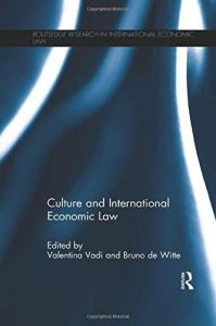 Culture and international economic law
