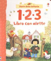 1 2 3 libro con alette
