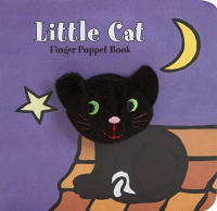 Little cat : finger puppet book / [illustrated by Klaartje van der Put ; North America text design by Amelia Anderson]