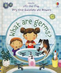 Lift the flap. What are germs?