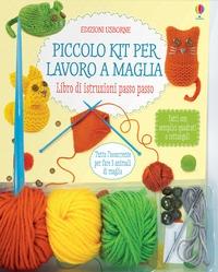 Piccolo kit per lavoro a maglia