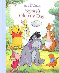 Winnie the Pooh. Eeyore's gloomy day