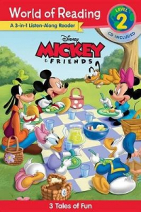 World of reading Mickey and friends 3-in