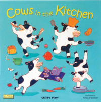 Cows in the kitchen