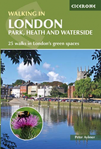 Walking in London park, heath and waterside
