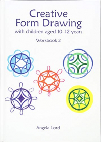 Creative form drawing with children aged 9-12 years