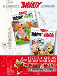 Astérix chez les Bretons ; Astérix et les Normands / texte de René Goscinny ; dessins d'Albdert Uderzo
