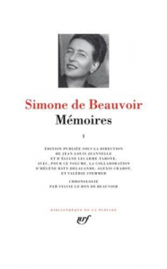 Mémoires / Simone de Beauvoir. 1