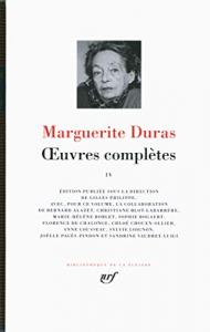 Oeuvres complètes / Marguerite Duras ; édition publiée sous la direction de Gilles Philippe. 4