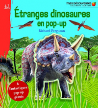 Etranges dinosaures en pop-up