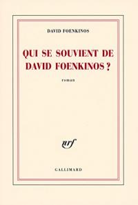 Qui se souvient de David Foenkinos?