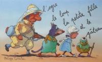 L'ogre, le loup, la petite fille et le gâteau / Philippe Corentin