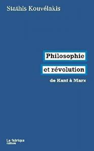 Philosophie et révolution