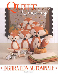 Quilt country. 62: Inspiration automnale