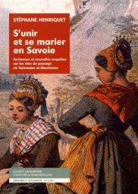 S'unir et se marier en Savoie
