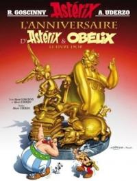 L'anniversaire d'Astérix et Obélix : le livre d'or / [textes René Goscinny et Albert Uderzo ; dessins d'Albert Uderzo]