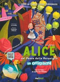 Alice nel Paese delle Meraviglie in origami
