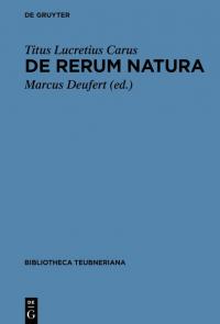 De rerum natura libri VI