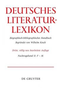 Deutsches Literatur-Lexikon.