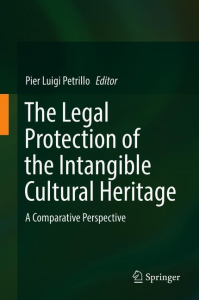The legal protection of the intangible cultural heritage