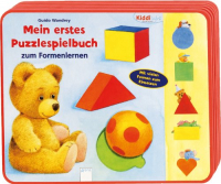 Mein erstes Puzzlespielbuch zum Formenlernen