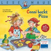 Conni backt Pizza