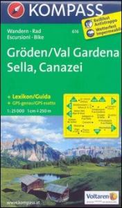 Groden/Val Gardena, Sella, Canazei [materiale cartografico]