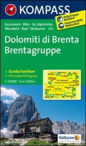 Dolomiti di Brenta [materiale cartografico]