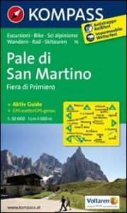 Pale di San Martino [materiale cartografico]