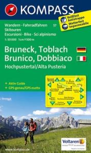 Bruneck, Toblach [materiale cartografico]