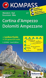 Cortina d'Ampezzo Dolomiti Ampezzane [materiale cartografico]