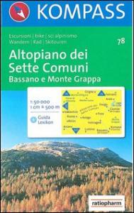 Altopiano dei Sette Comuni [materiale cartografico]