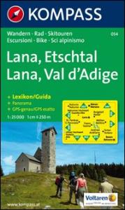 Lana, Etschtal [materiale cartografico]