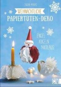 Weihnachtliche Papiertuten-Deko