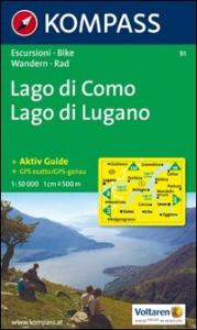 Lago di Como, Lago di Lugano : aktiv guide