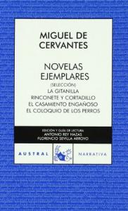 Novelas ejemplares : (seleccón) / Miguel de Cervantes Saavedra ; edición y guia del lectura Antonio Rey Hazas, Florencio Sevilla Arroyo