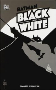 Batman. Black and white