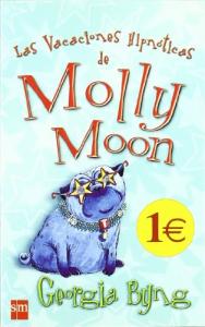 Las vacaciones hipnoticas de Molly Moon