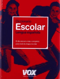 Diccionario escolar de la lengua española